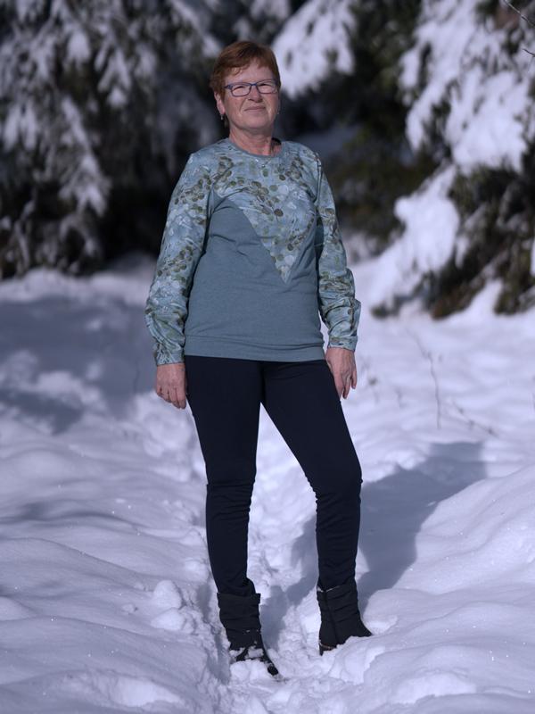 Calin 40 Im Schnee 1