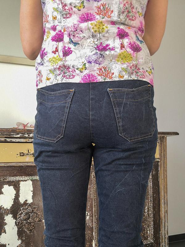 Gianna 38 Jeans Gesäßtaschen