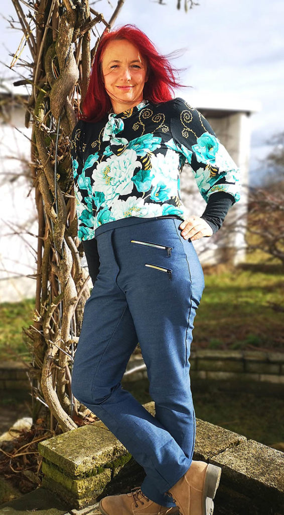 Gianna 40 Jeansstretch blau