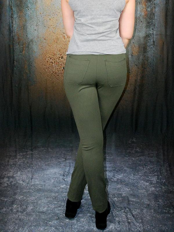 Gianna 40 Grün Hinten