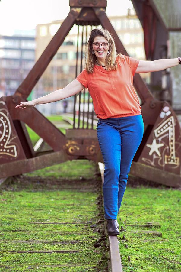 Gianna 44 Jeans Blau 1