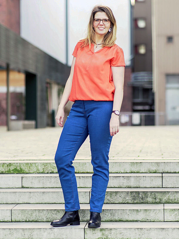 Gianna 44 Jeans Blau