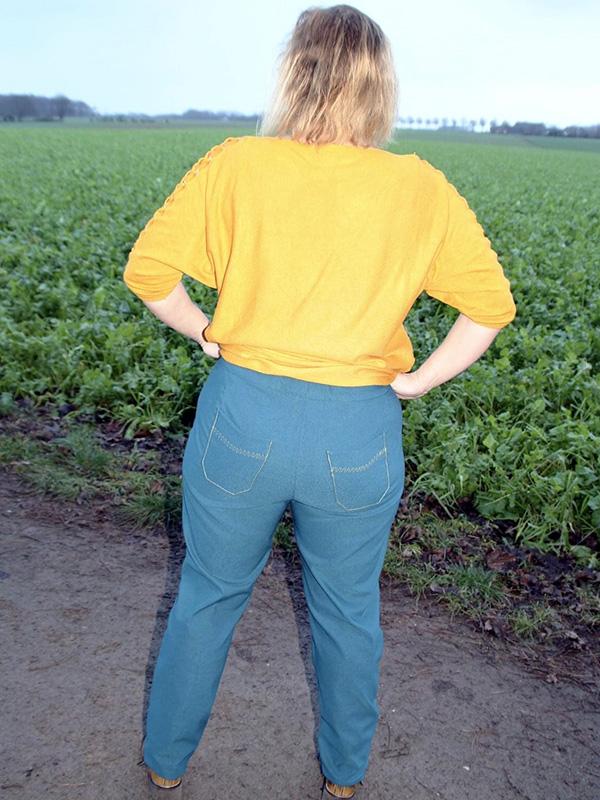 Gianna 46 Petite Jeans Hinten