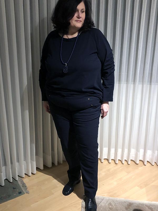 Gianna 54 Schwarz Vorne
