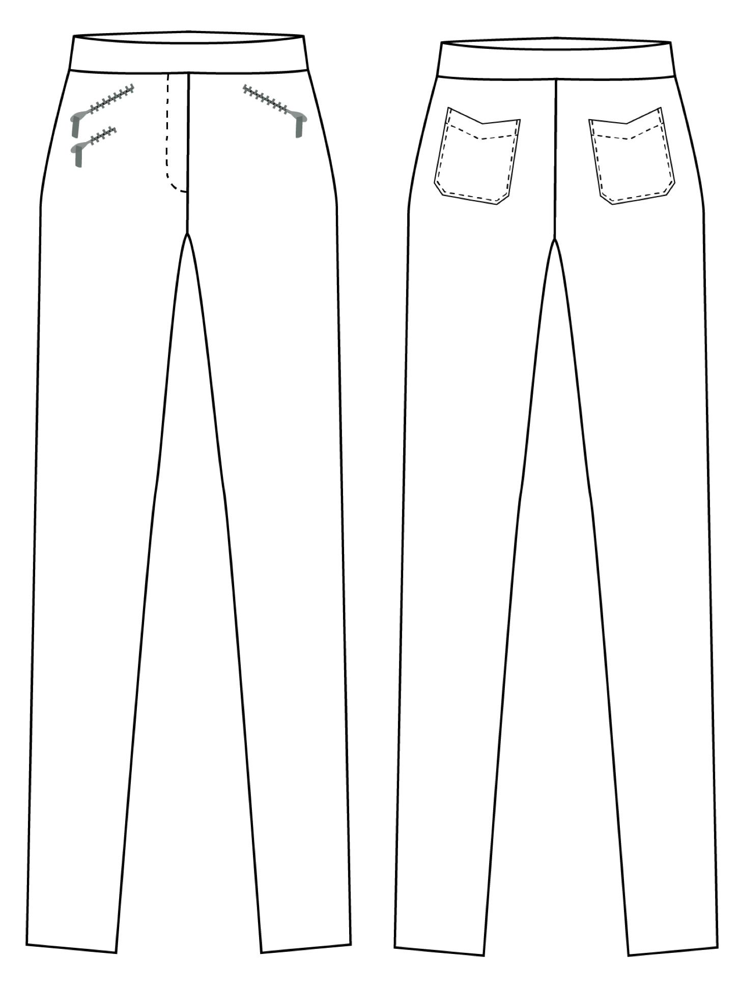 Gianna technische Zeichnung