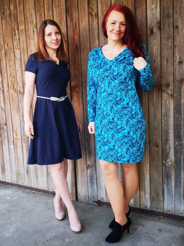 Yelda 36 P Kleid Ausgestelltgerade