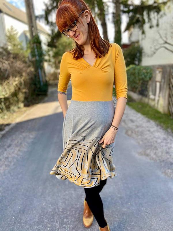 Yelda 38 Kleid 2 Teilig Ausgestellt1