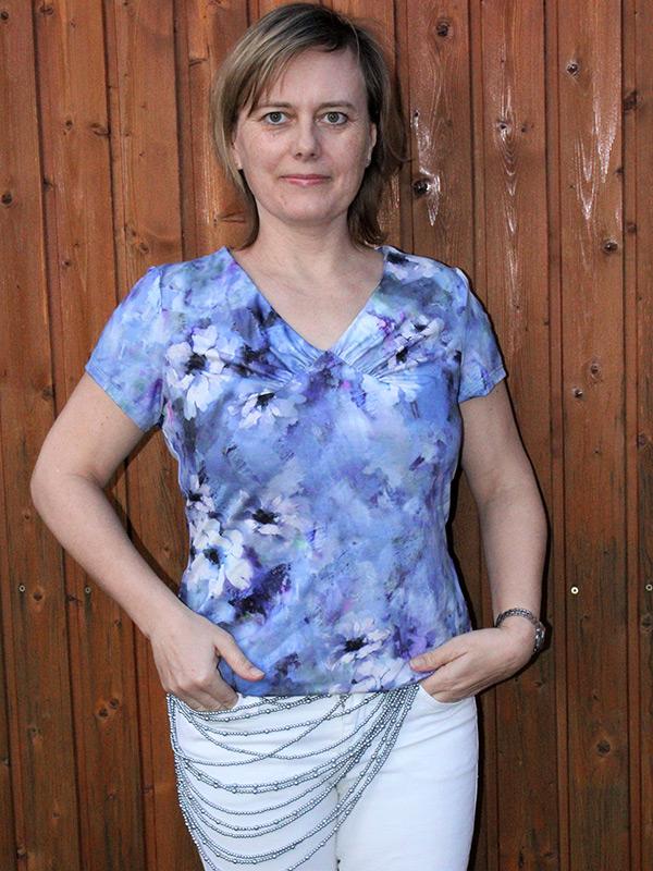 Yelda 38 P Blaue Blumen