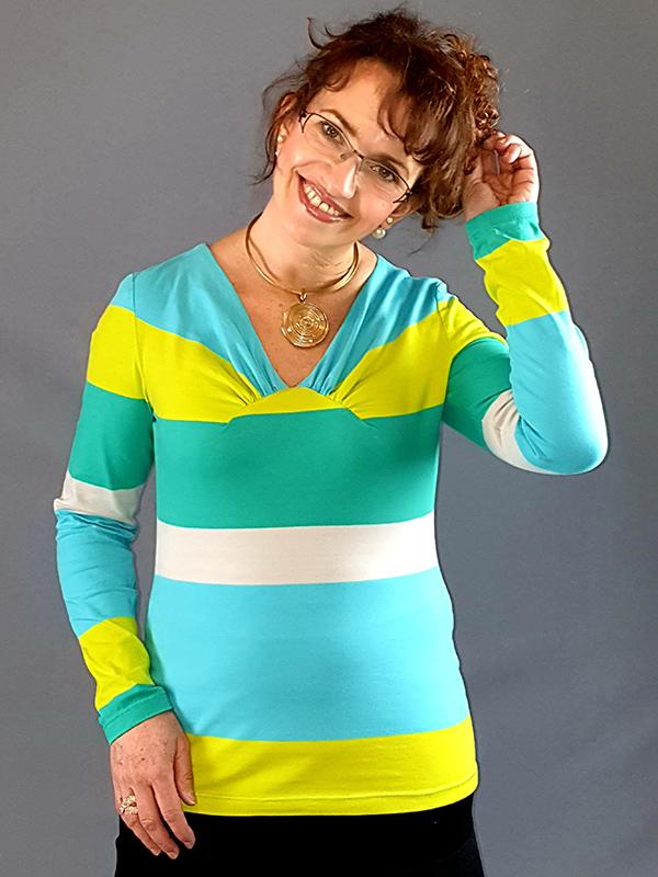 Yelda 40 Shirt Gestreift