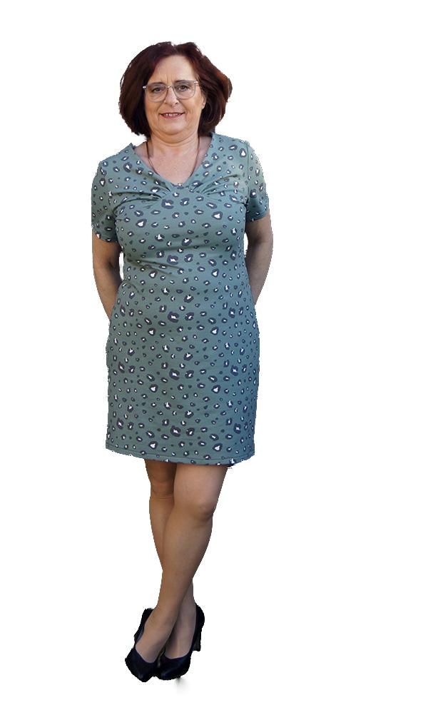 Yelda 42 Kurzes Kleid