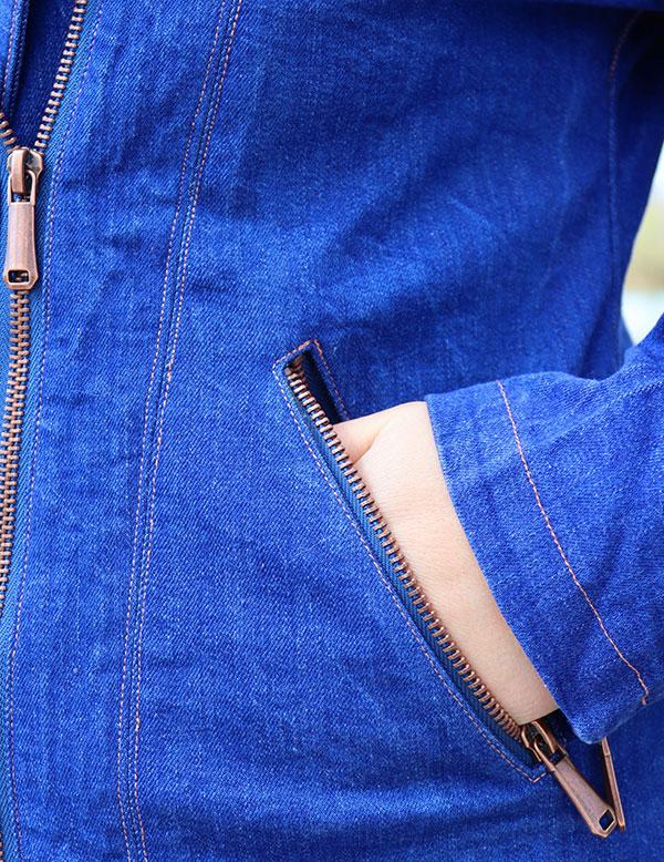 Lola 40 42 Jeans Tasche