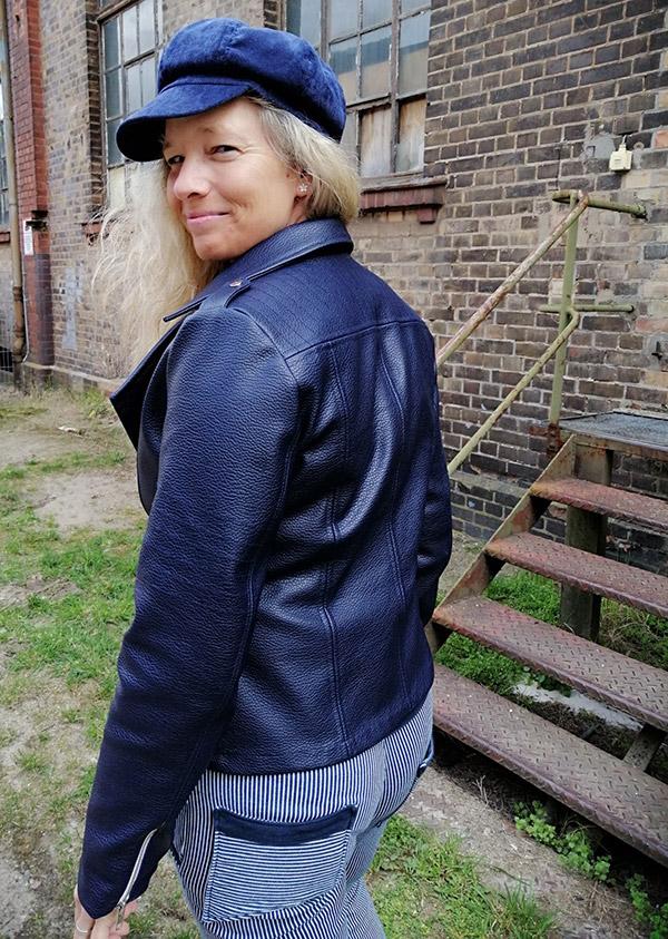Lola 42 40 Kunstleder Blau4