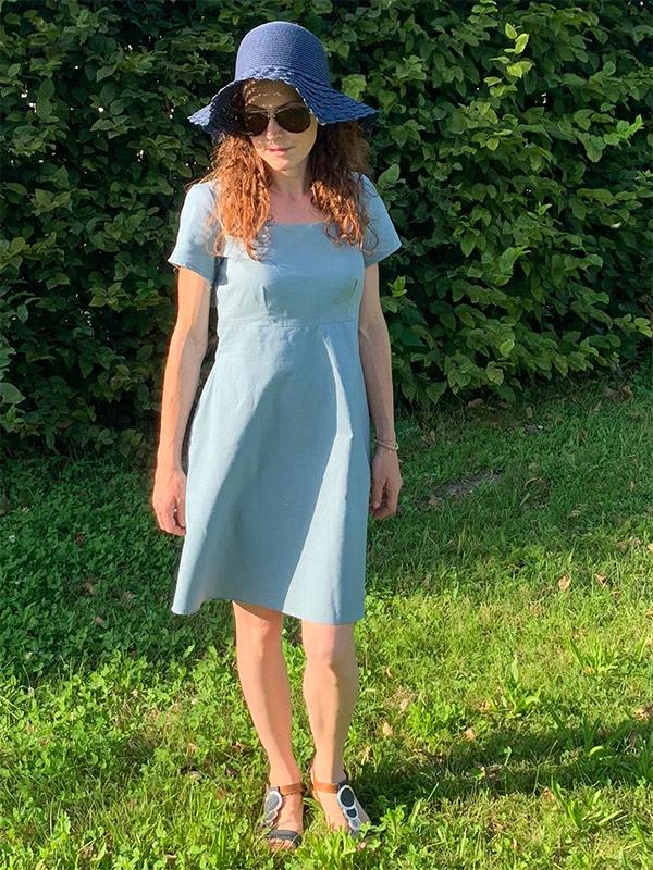 Lyana 34 Petite Gerades Kleid