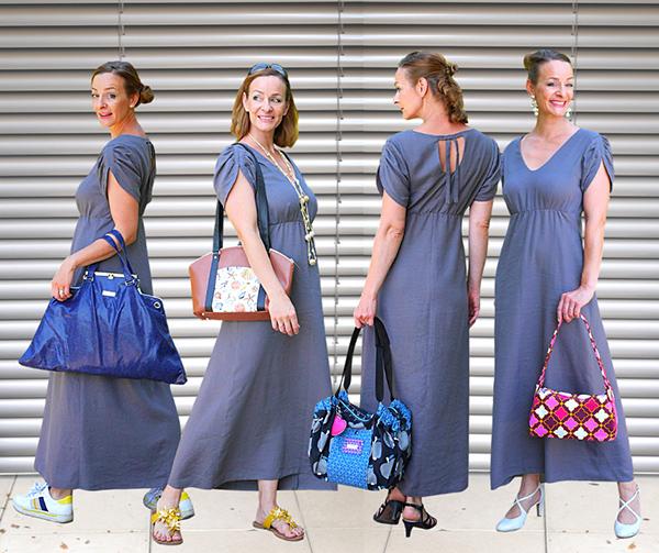Lyana 40 Gerades Kleid Collage