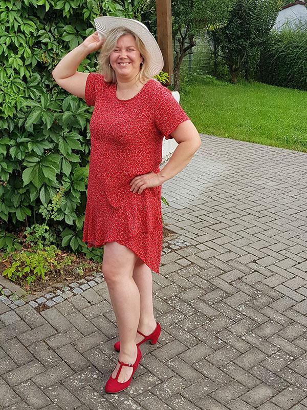 Lyana 46 Rot Kurz
